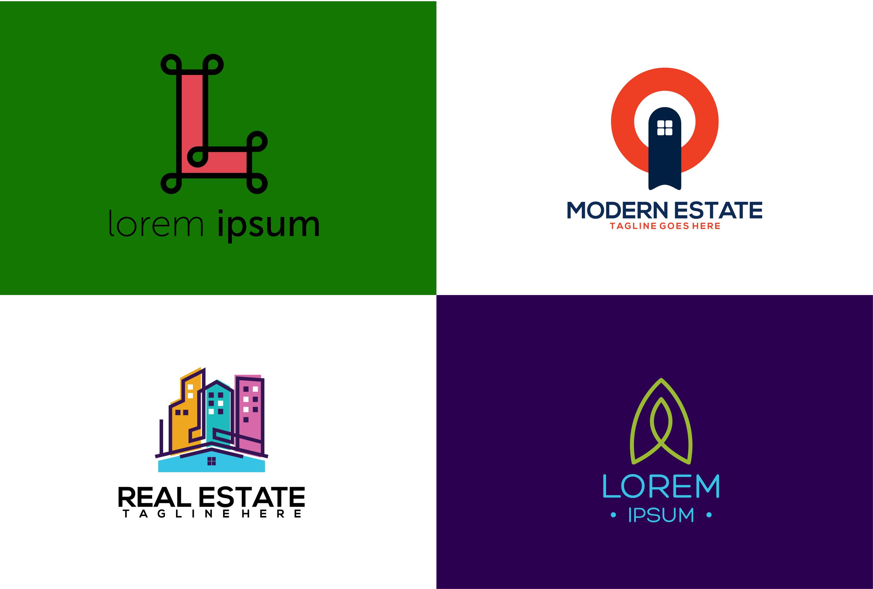 I will do minimalist flat logo design