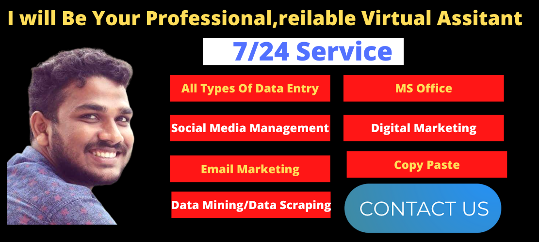 I will Be Your Professional,reilable Virtual Assistant