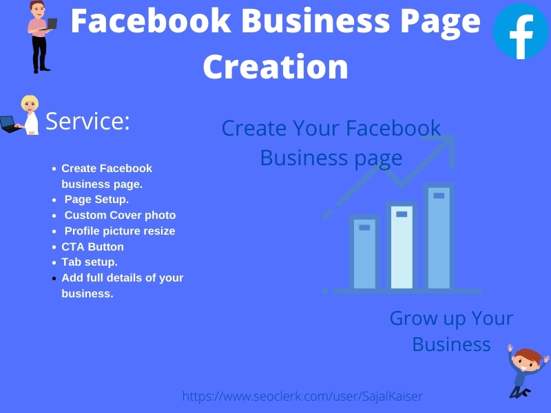 I will create and Setup your Facebook business page
