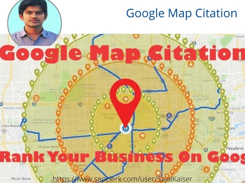 I will do 250 google map citations for local SEO