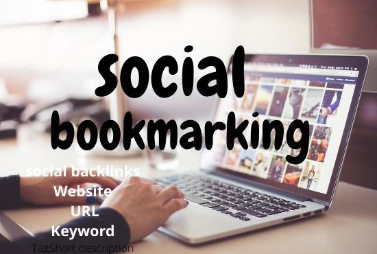 I will generate traffic through bookmarking