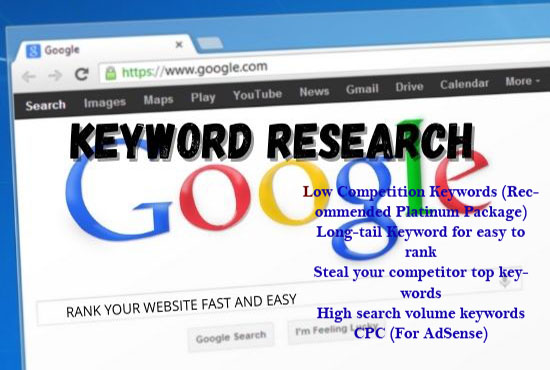 I will do keyword research and local SEO for you