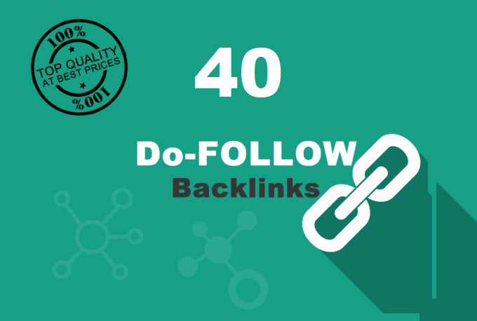 HIGH PR 40 Do follow Social and BLOG COMMENTS BACKLINKS