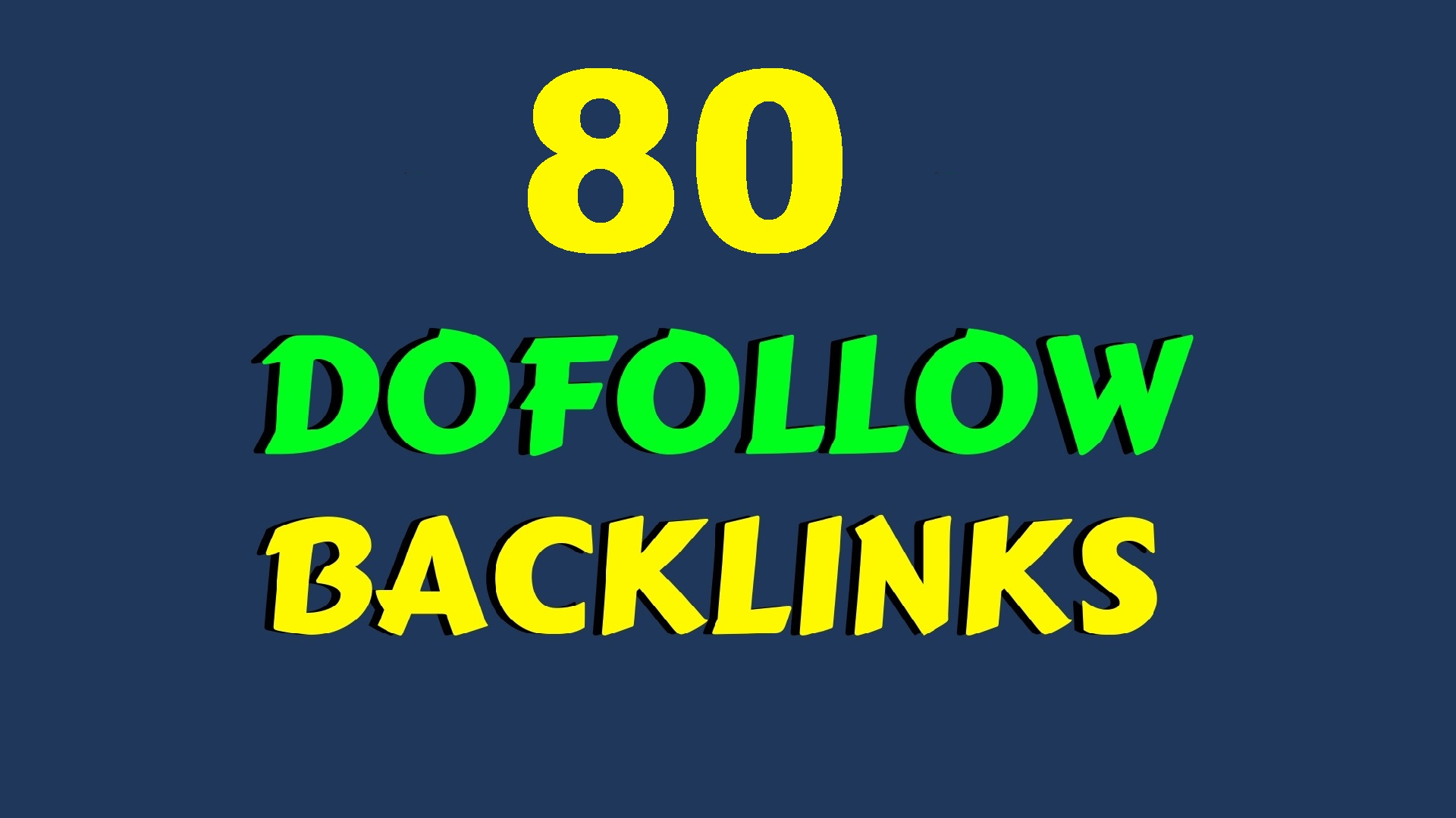 HIGH PR 80 Do follow Social and BLOG COMMENTS BACKLINKS