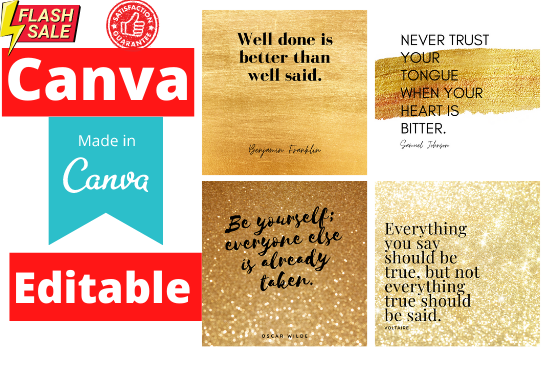 300 social media quotes for instagram canva editable , loved Quotes, Inspirational Quotes