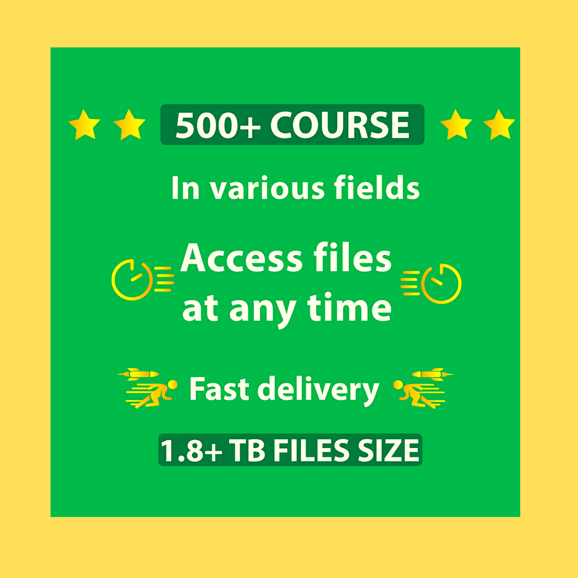 450+ Course Online Collection Perfect To Make Money 1.3 TB