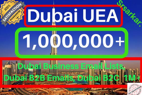 Dubai UEA b2b B2c email Database