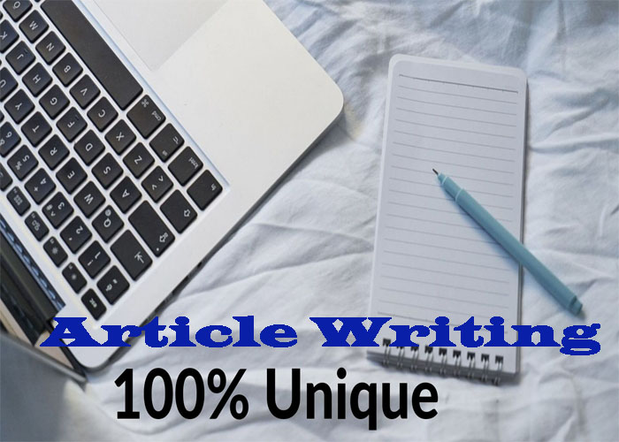 Write 1000+ Word unique articles Writing for your website or any Topic.