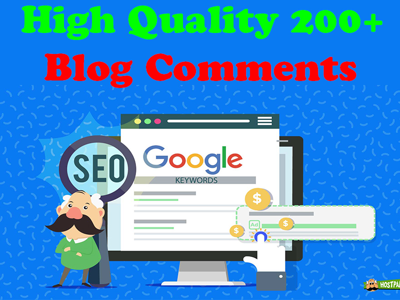 Create 200+ Blog Comment Backlinks Links in 24 Hours All Verified,  First Time on SEO clerks.
