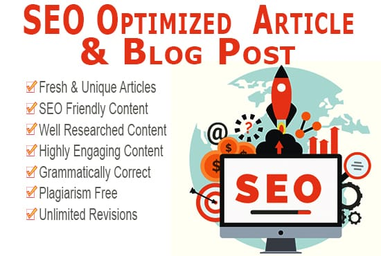 I will write 5x500 word unique SEO optimized web and blog content