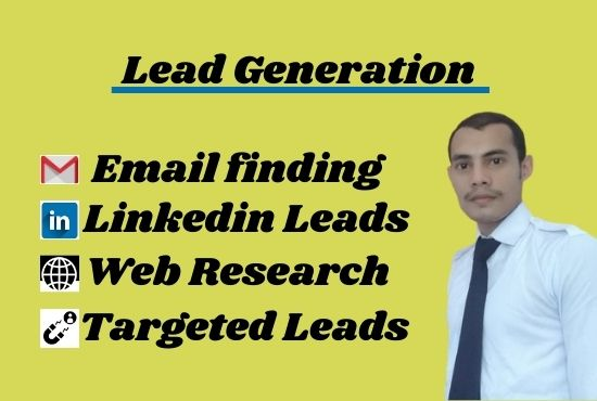 I will do collect targeted b2b Lead generation any targeted industry and location for 5