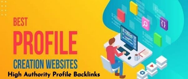HQ 30 profile creation backlinks for your website