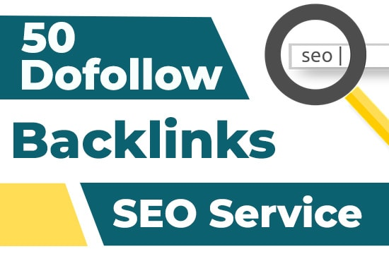 I will give you 50 high quality dofollow backlinks,  link building for your seo service