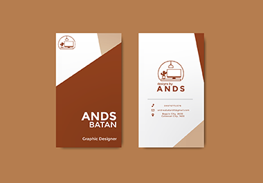 Simple and Minimal business card for you or your brand