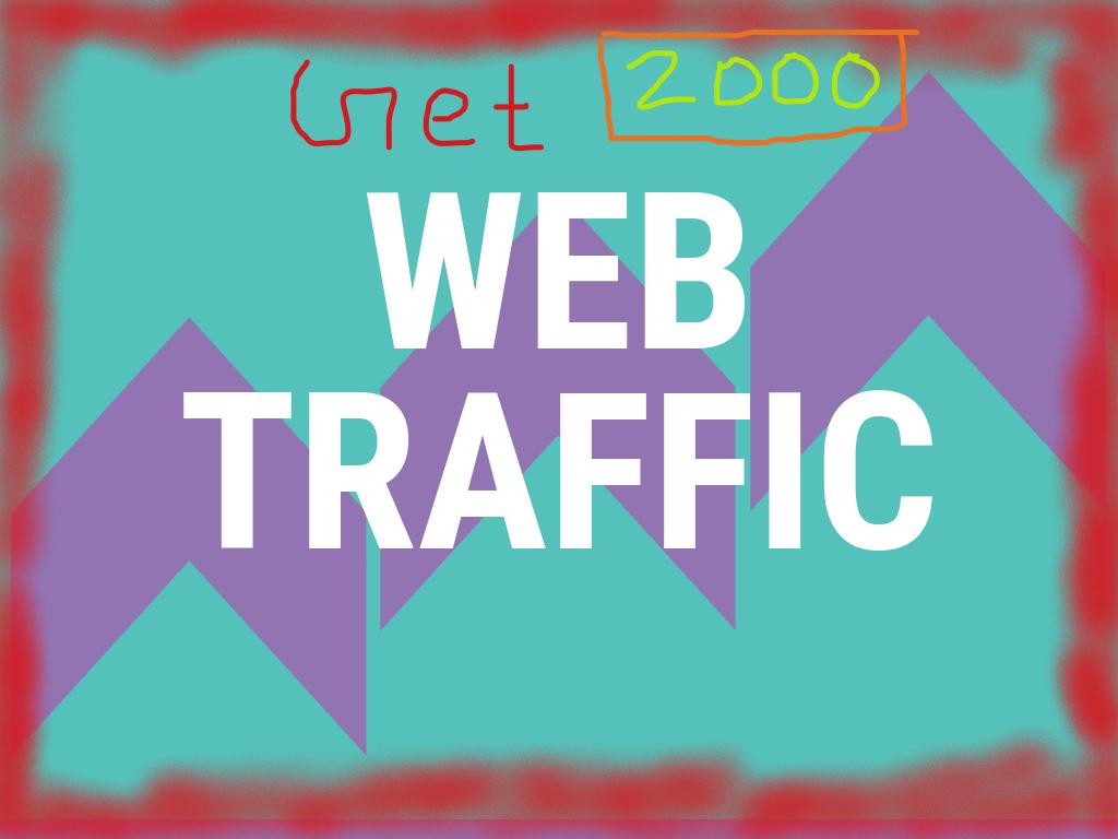 2000 HQ human worldwide website traffic