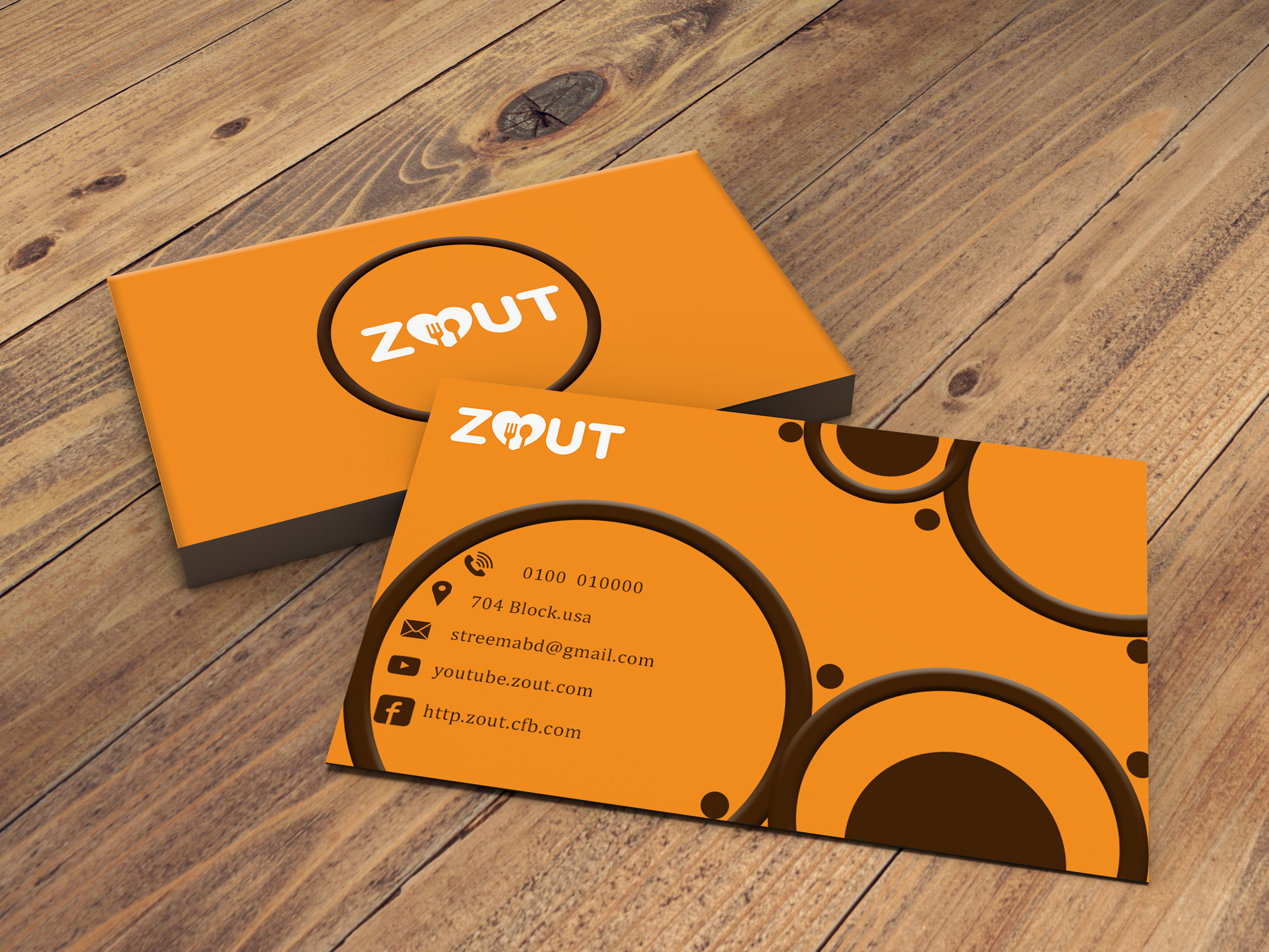 I will design any type of business card for you
