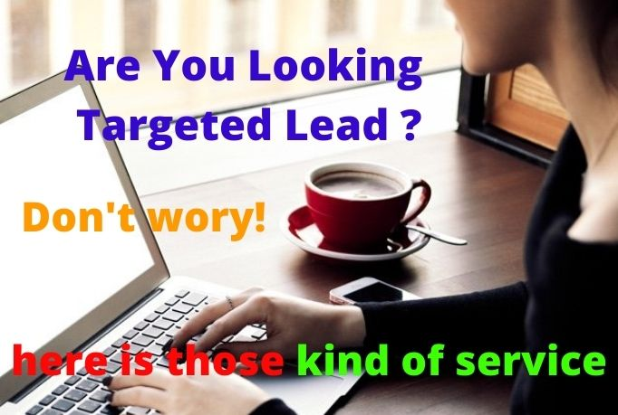 I will provide you 100 verified lead for your targeted country
