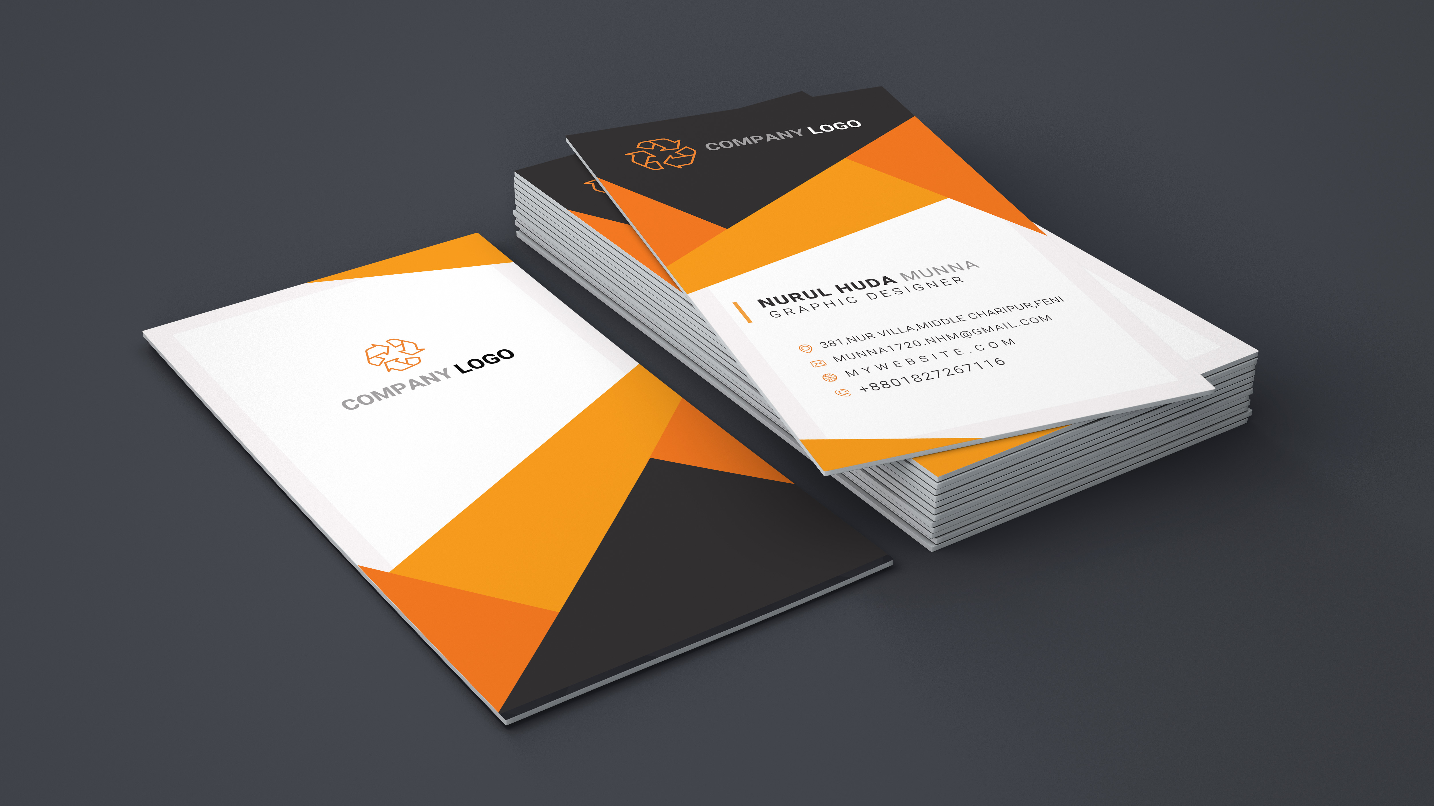 I will design professional creative business card