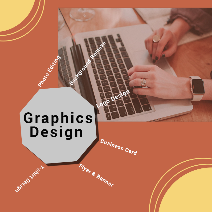 I will be your graphics designer