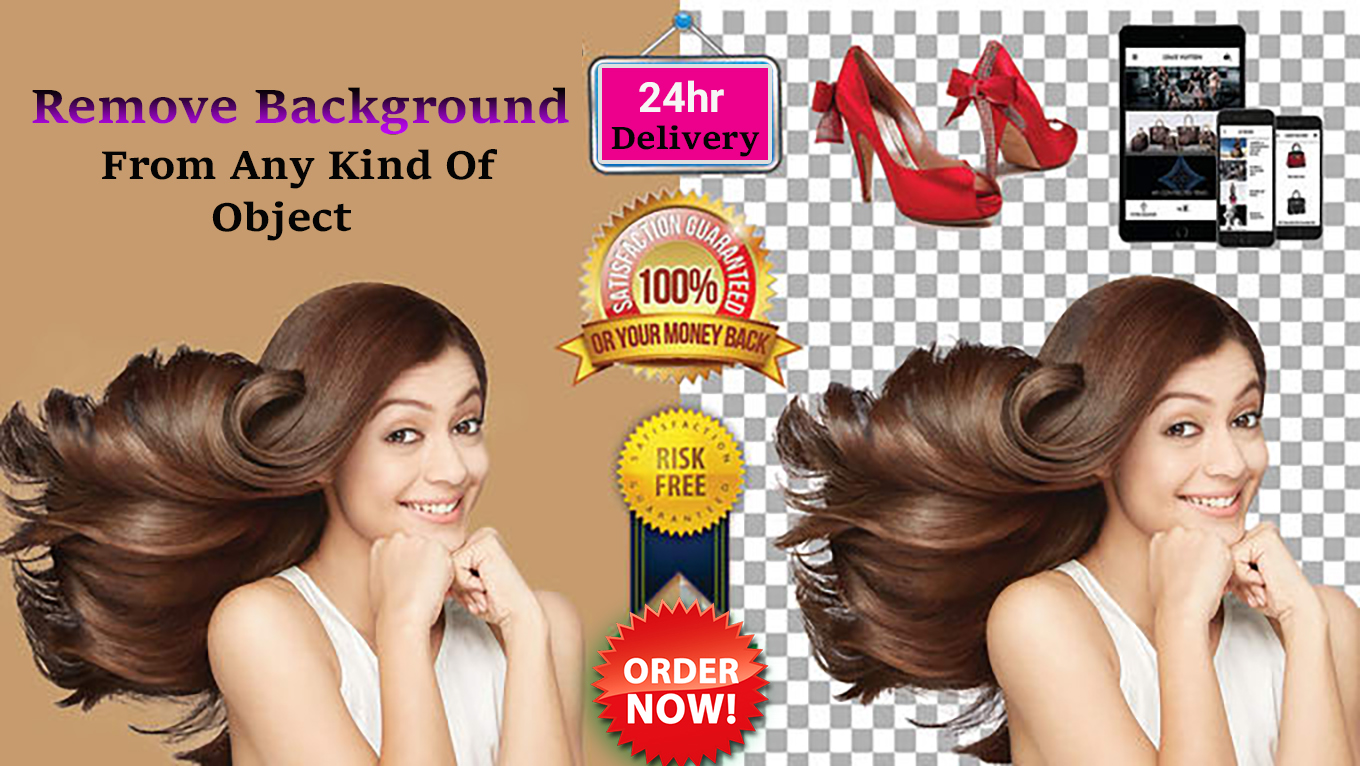 i will do every kind of background remove within 24hr