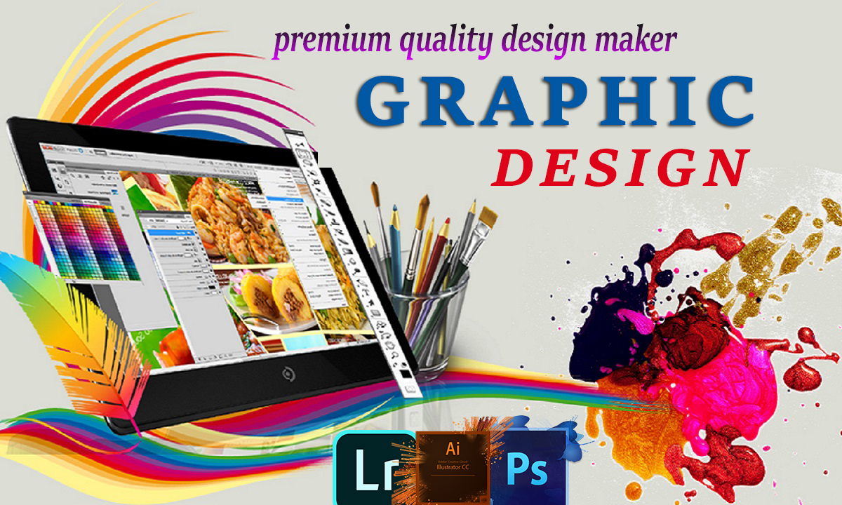 i will be your professional graphic designer who can provide everything for you