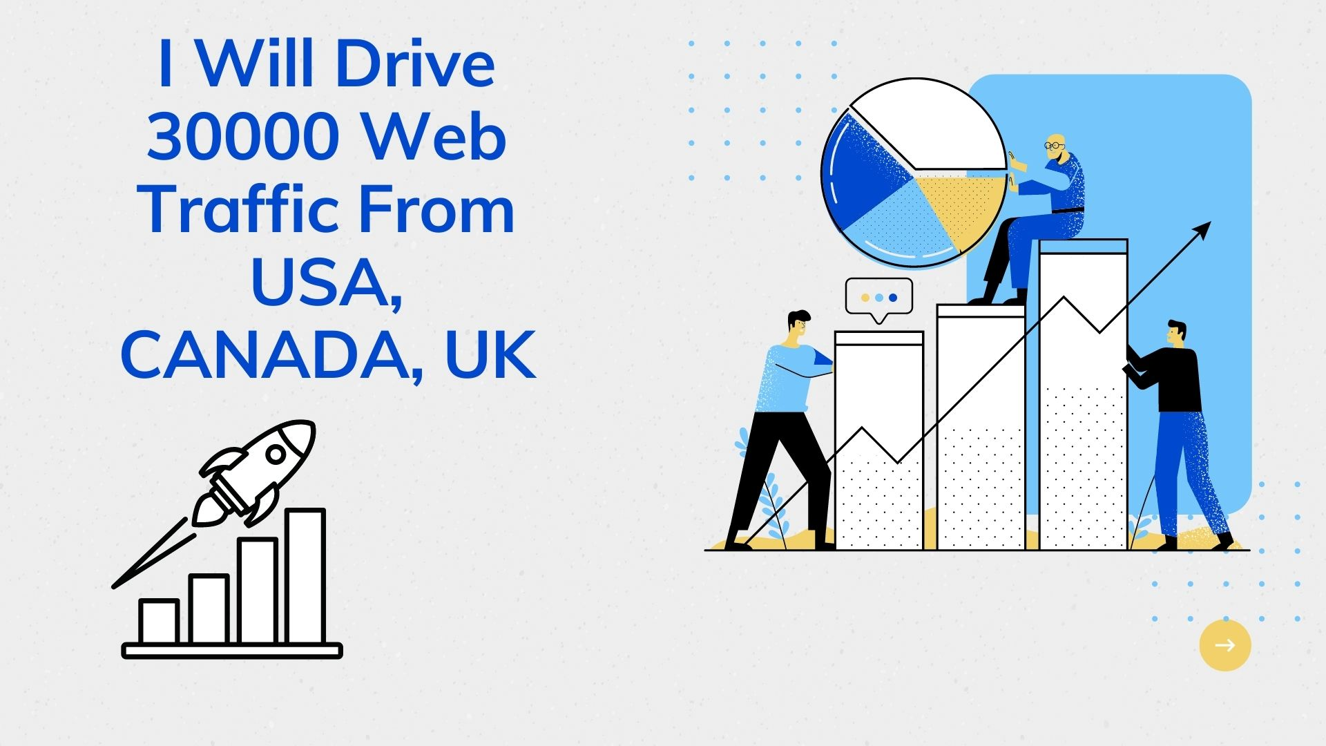 I Will Drive 30000 Web Traffic From USA Or CANADA Or UK