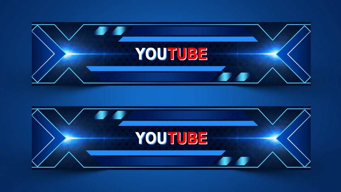 I will design your YouTube art / banner professionally at a very low cost.