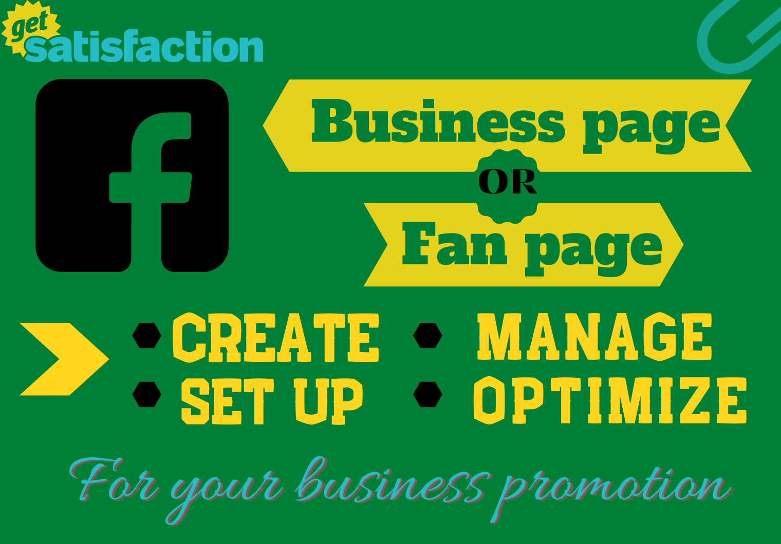 I will Create,  Setup,  manage and Optimize your professional facebook business page.