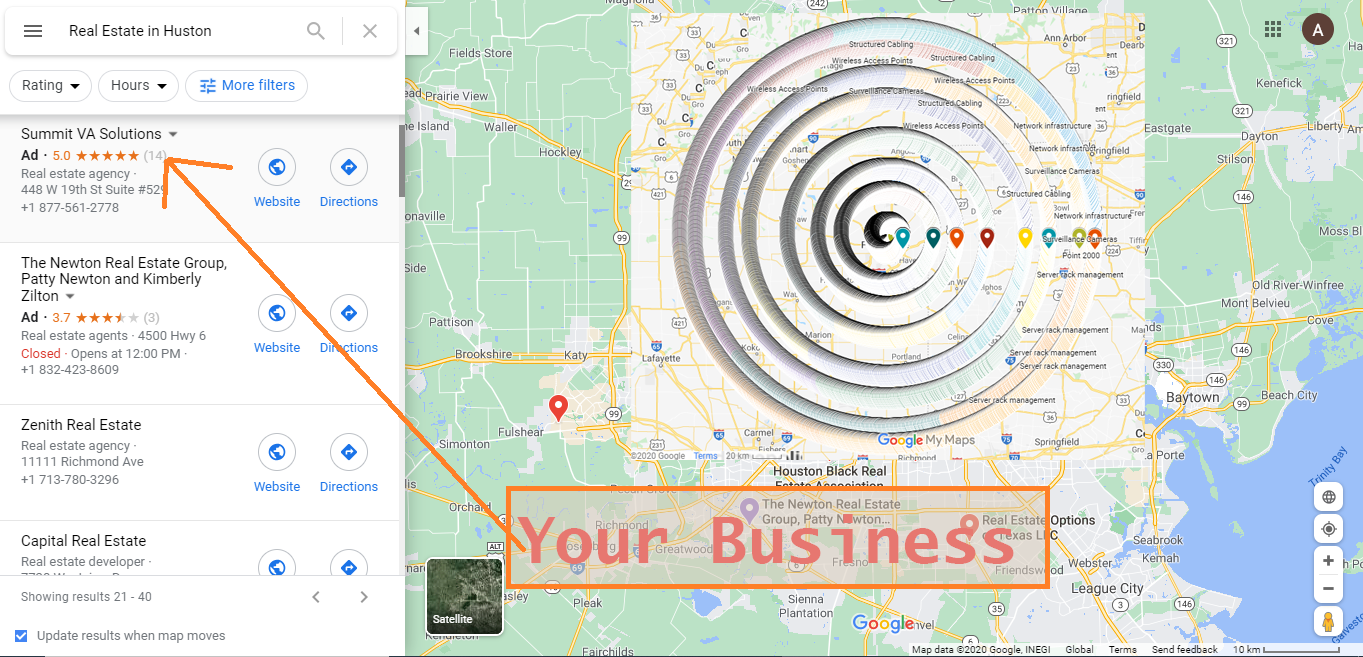I will do 20,000 Google map citations and 5 live backlink for local seo