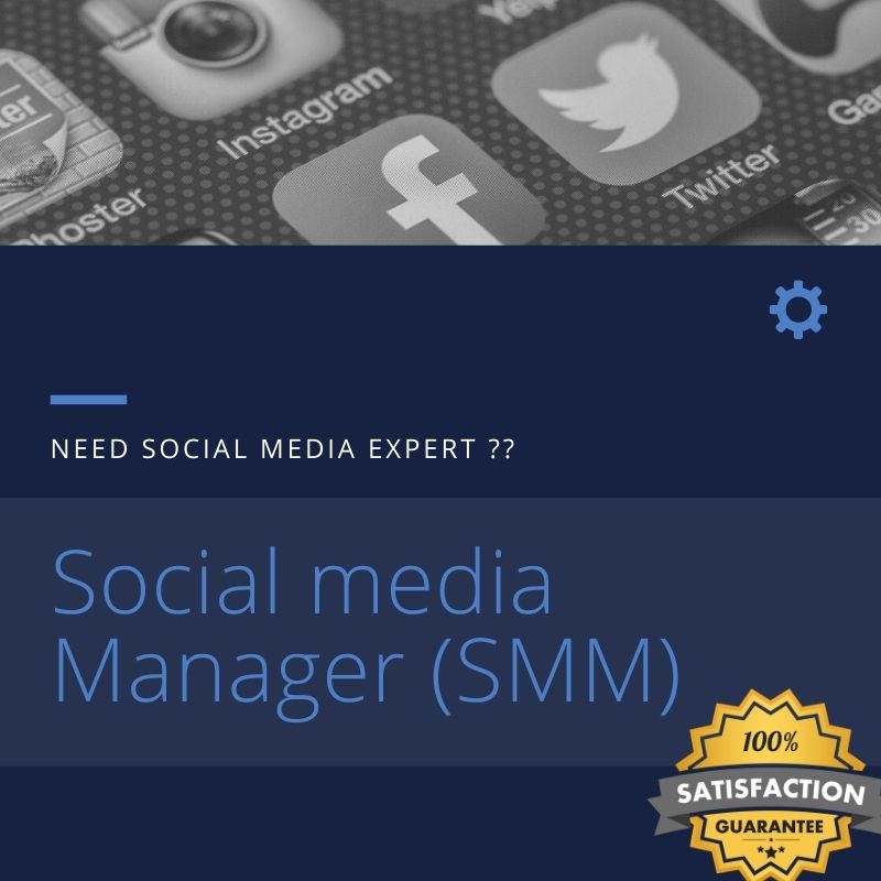 I will be your digital social media manager and marketing expert