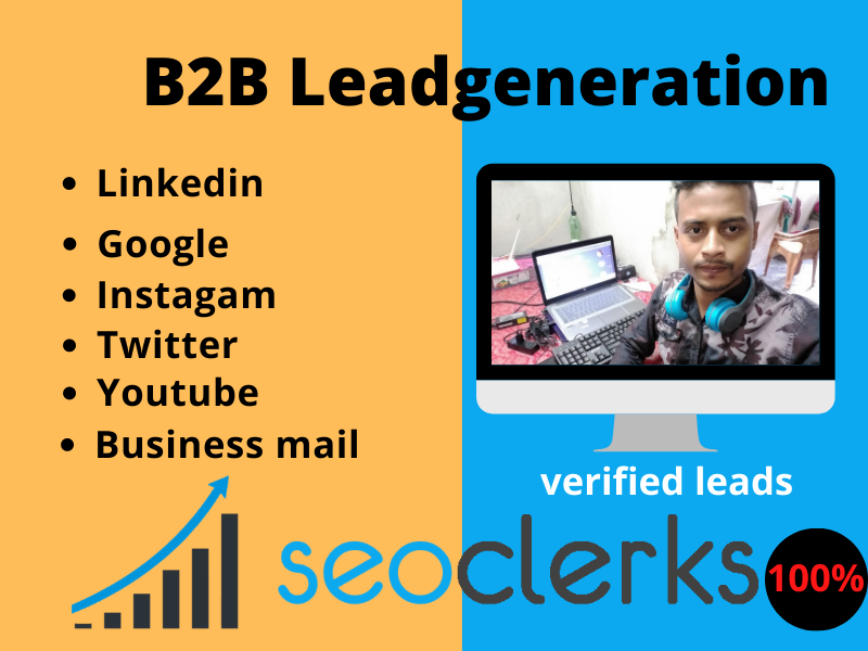 I will Do Highly Targeted B2B LinkedIn Lead Generation And Prospect List Building