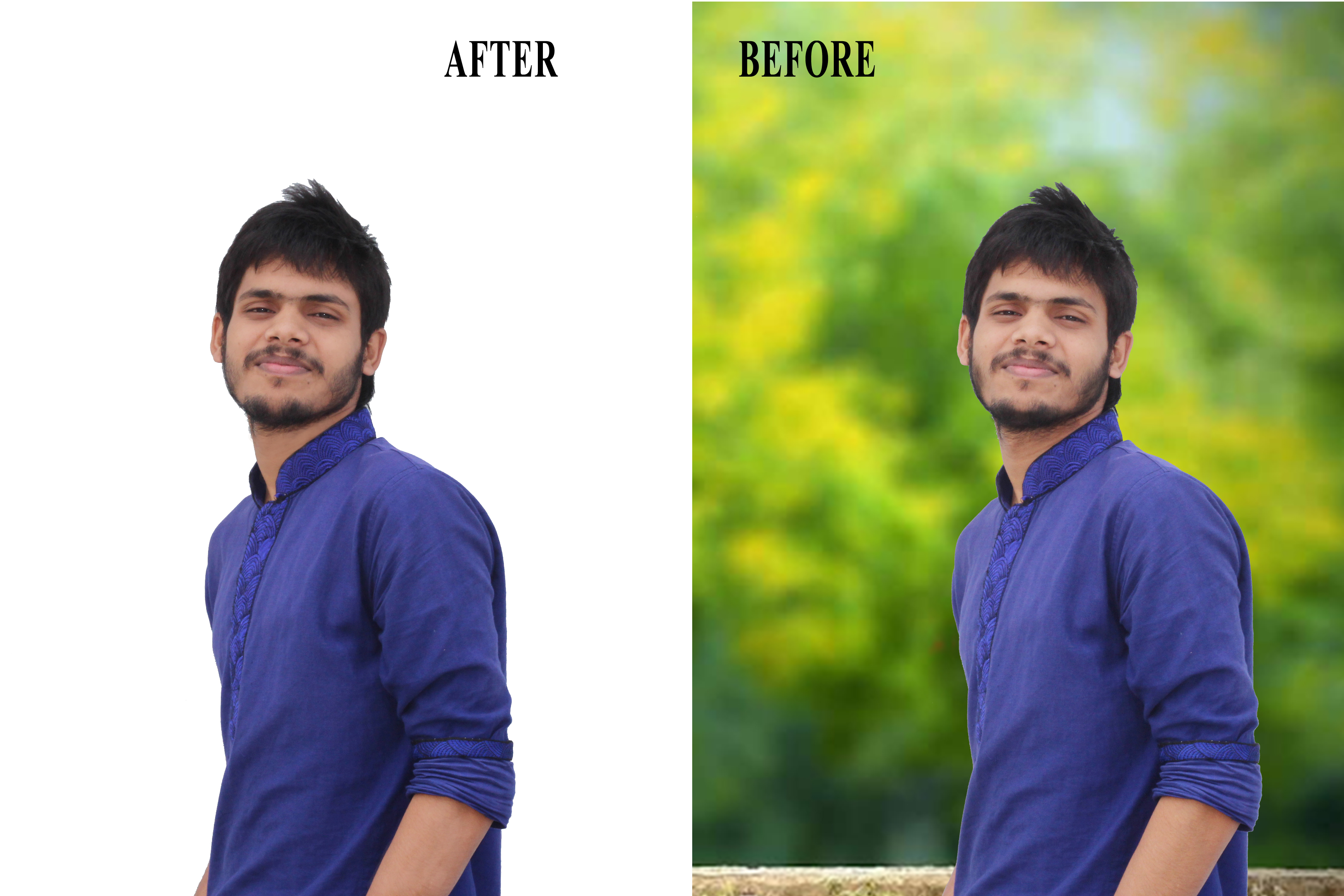 I will remove background from Photo or Photoshop Edit