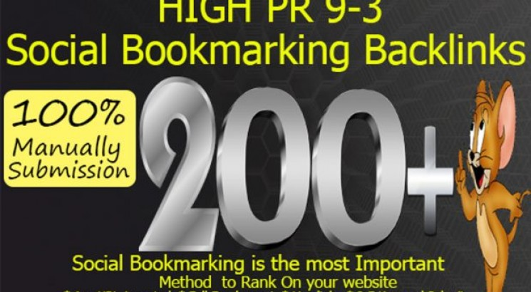 Provide 200 HQ Social Bookmarks Backlinks for your Website and Youtube