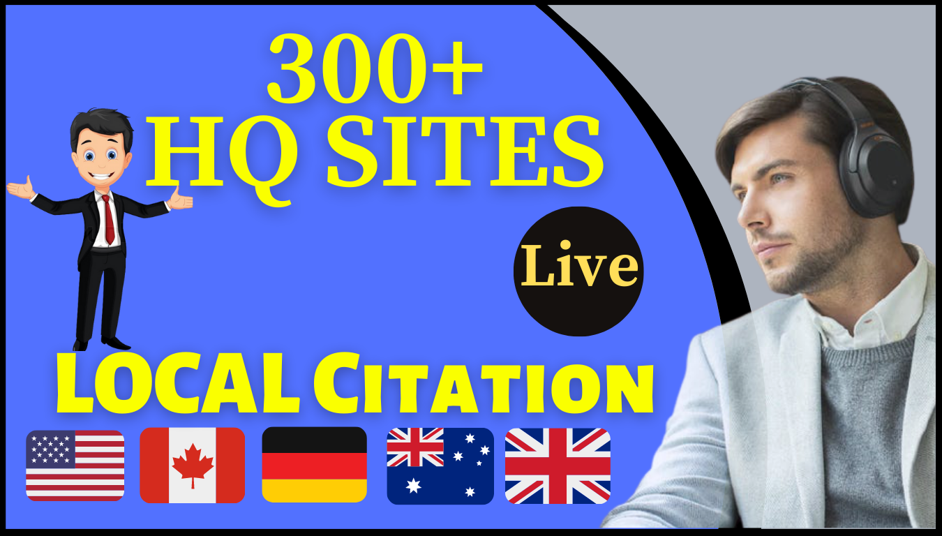 I will rank your business with local citations up to 100 directories