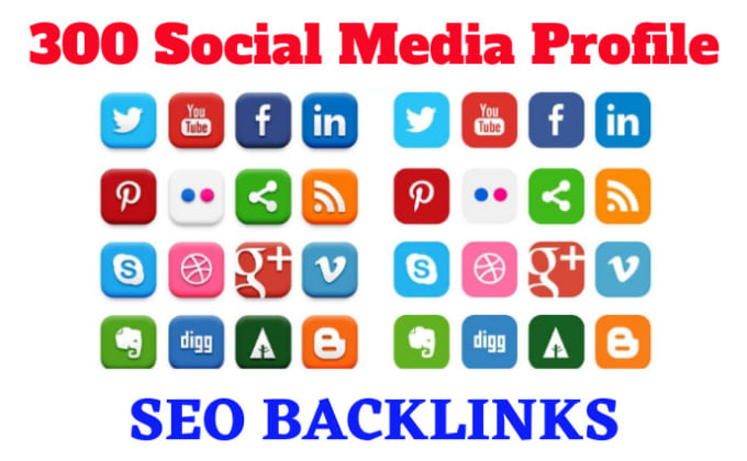 I will do 50 High Quality social media profile SEO backlinks,  link-building