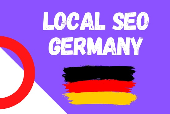 I will create german local citations listing for top google ranking