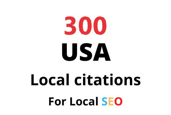 I will do top 30 Live USA local citations