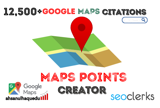 I will do 1000 google maps citations with local seo for gmb ranking