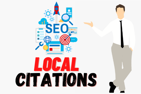 I will do top citation or local SEO for your company