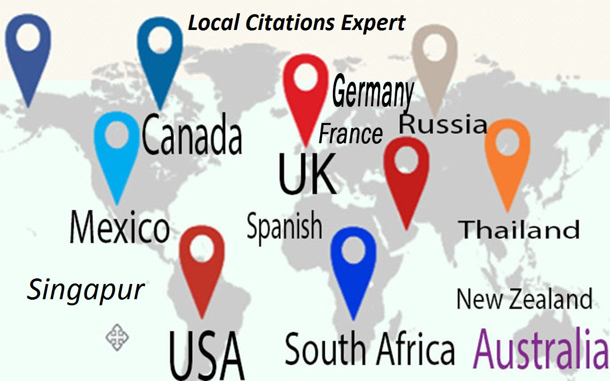 I will do 50 local citations listings for all countries
