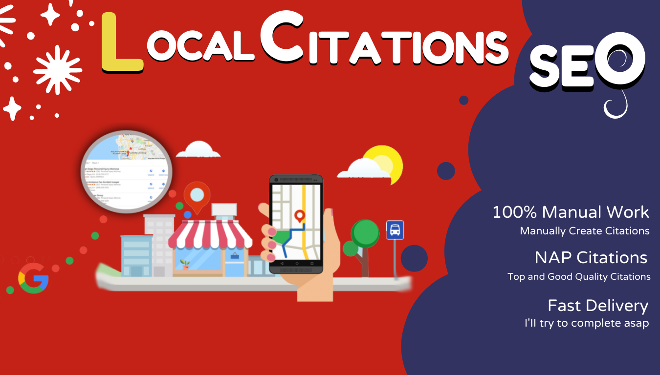 I will do live local SEO citations for local businesses