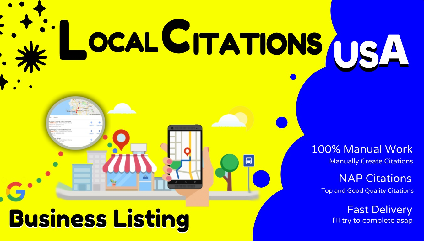 I will do top 30 Live USA local citations