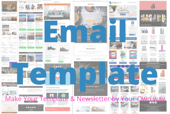 I will create you a fabulous HTML template according to your website