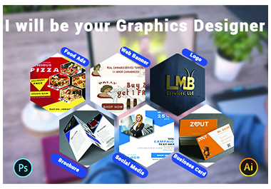 I will do all kinds of attractive graphics design work