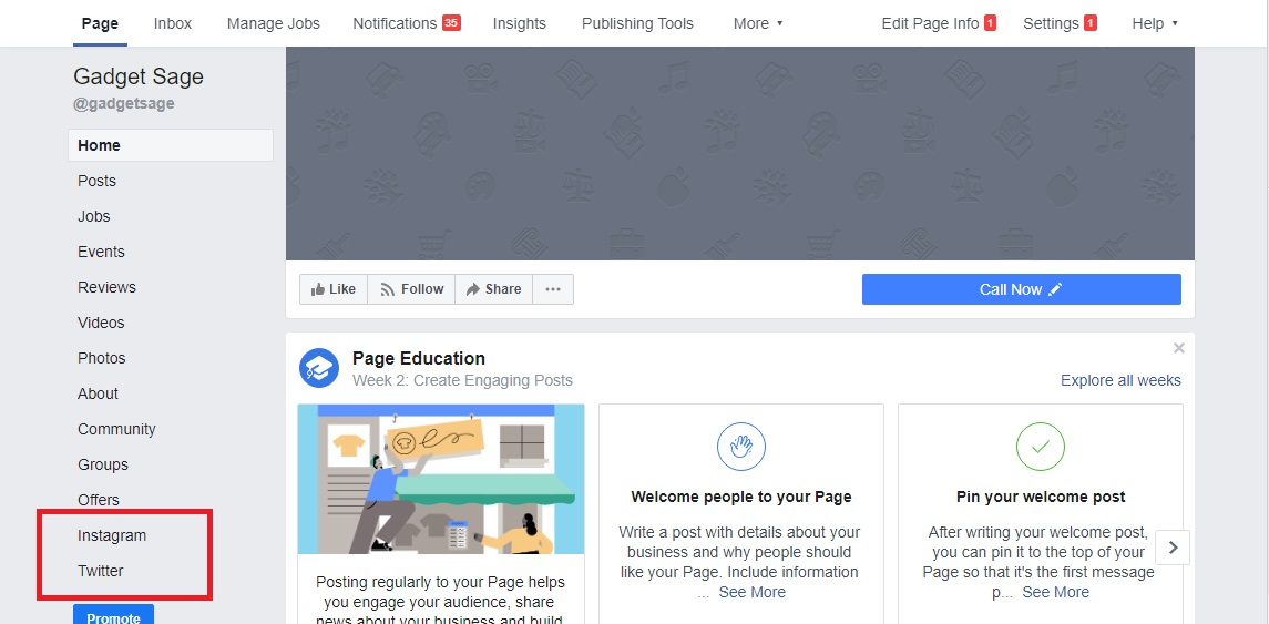 i will design your facebook business page