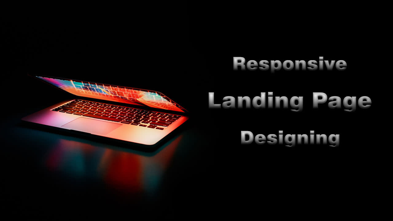 I will design responsive bootstrap landing page