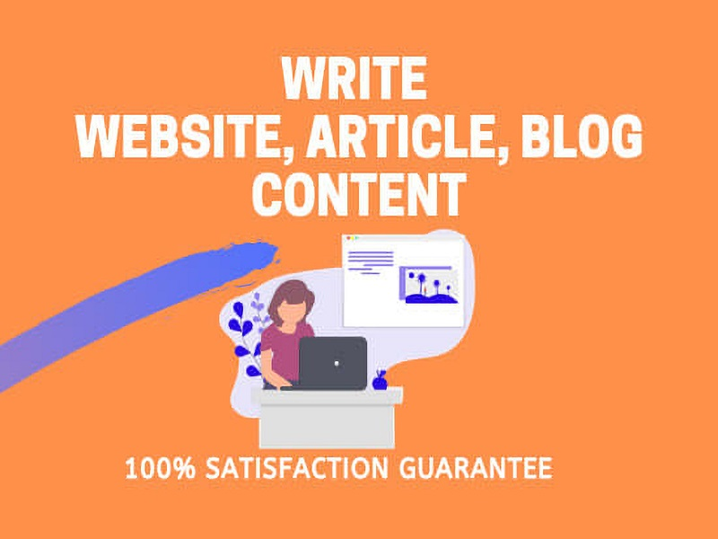 I will write 500+ words SEO article writing,  blog post and website content