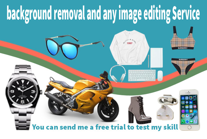background removal and any image editing