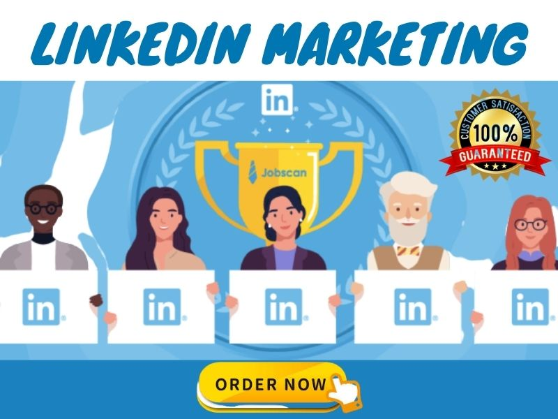 I will manage your linkedin marketing and grow more connections