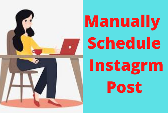 Manually Schedule Instagram Posts